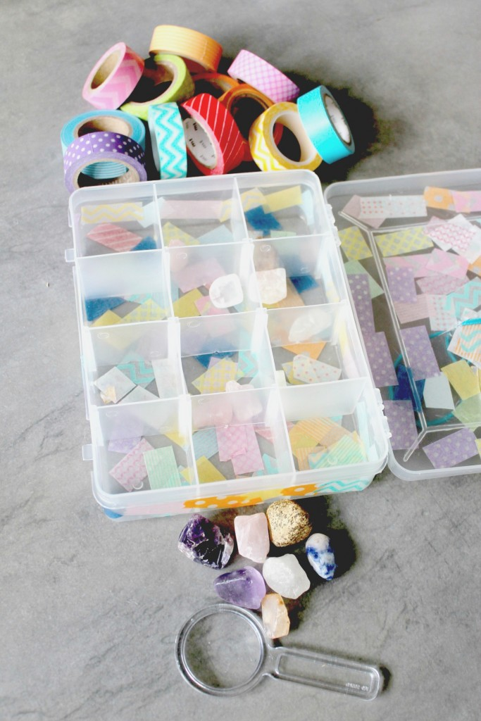 Rock collection storage box for kids - Smocks & Shops